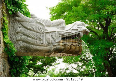 Dragon Head fountain