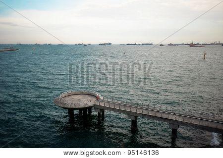 Marina Barrage Of Singapore