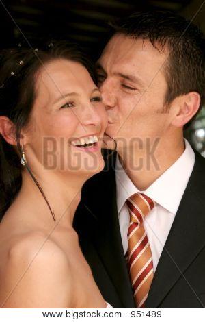 Paar glücklich