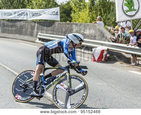 The Cyclist Leopold Konig - Tour De France 2014