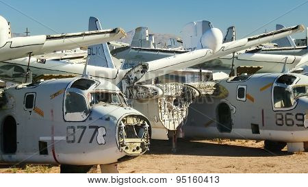 Military Aircraft Boneyard