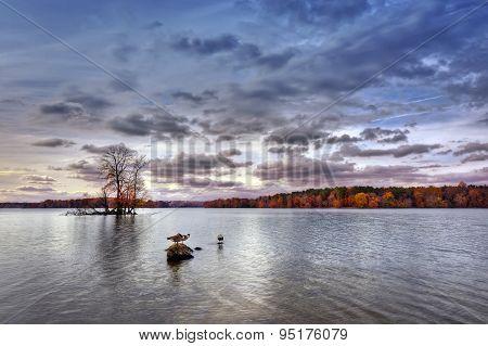 Autumn On Loch Raven