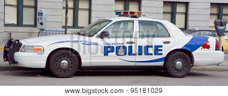 Car of the Vancouver Police Department
