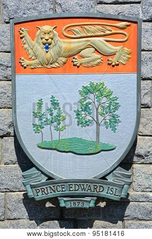 Coat of arms of Prince Edward Island