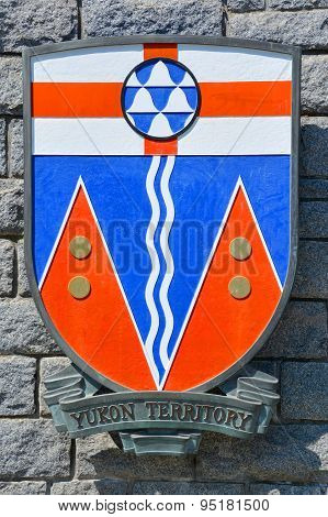 Coat of arms of Yukon Territory