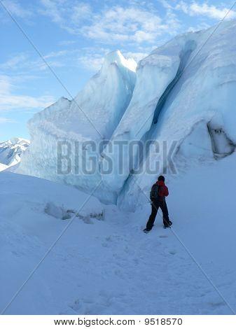 Alaska Glacier Cracks