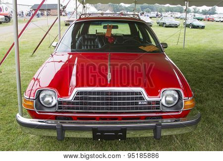 1979 Red Amc Pacer Car