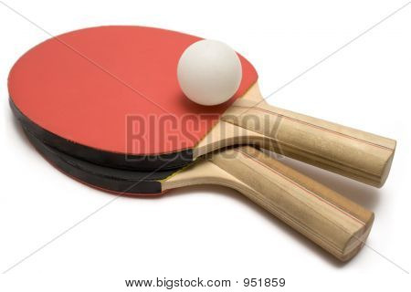 Ping Pong Paddles W/ Ball