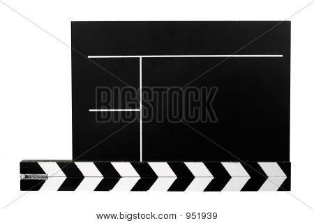 Clapboard W/ Path