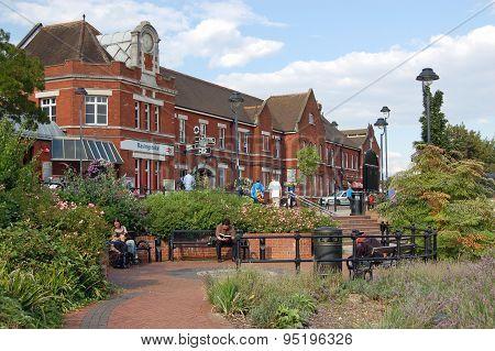 Railway Station, Basingstoke, Hampshire