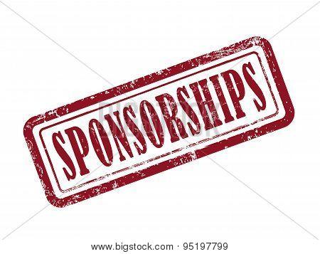 Stamp Sponsorships In Red