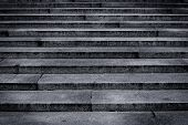 Granite stairs steps background - construction detail poster