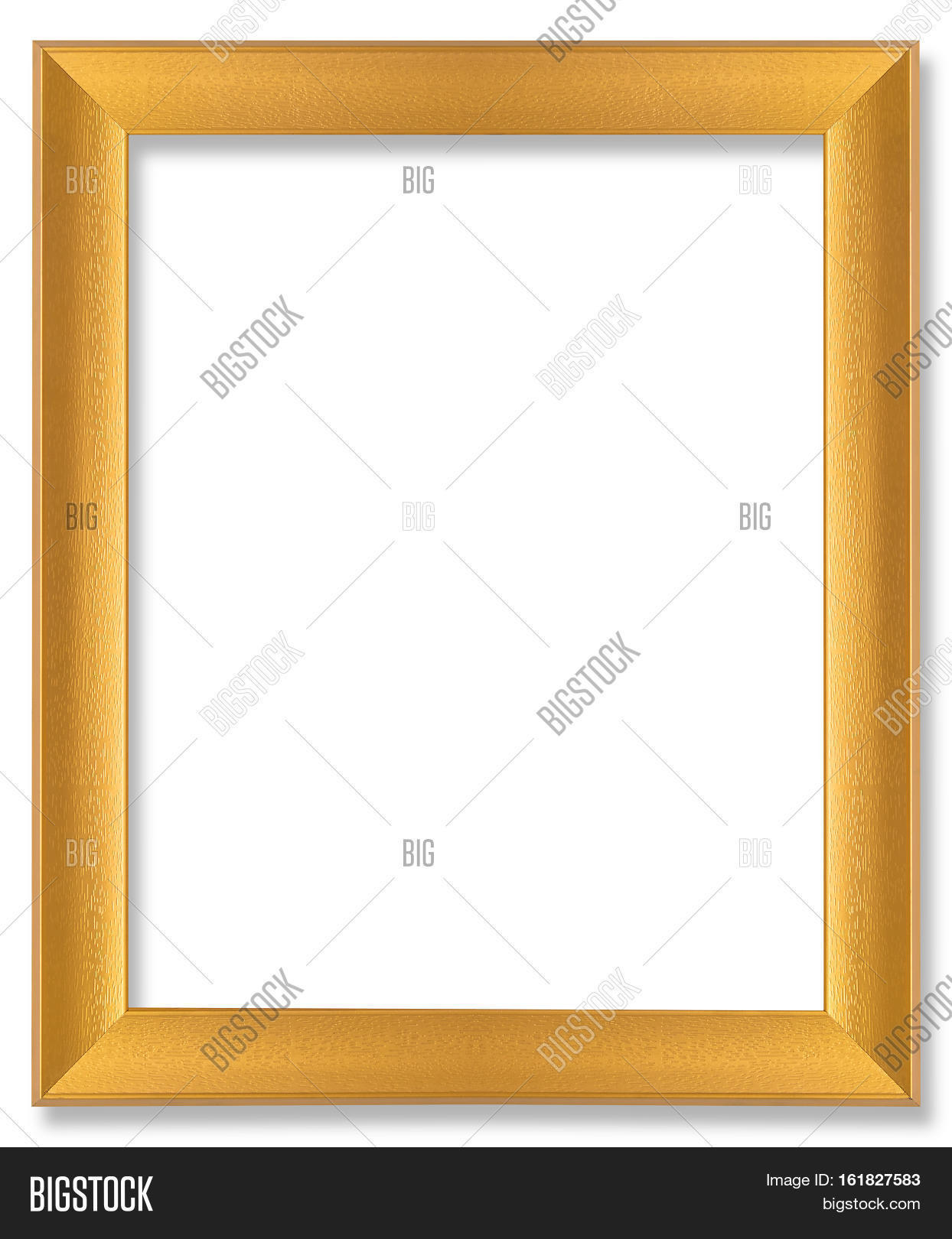 Gold Wooden Frame Image Photo Free Trial Bigstock