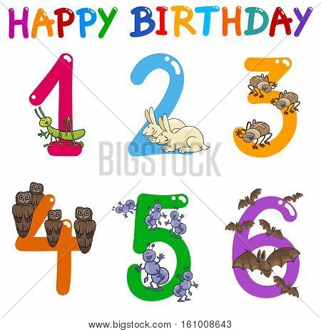 Birthday Greeting Card Set