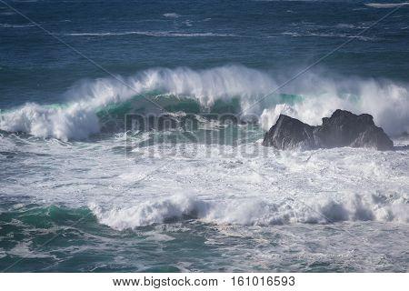 Coastal Scene In California