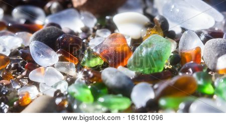 Sparkling Sea Glass