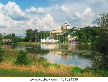Trencin is a small town in eastern Slovakia famous for a castle on a rocky hill of the same name.