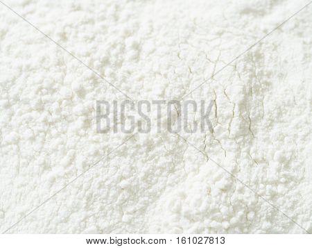 Texture of white wheat flour grain powder