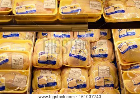 Perdue Chicken Products In A Grocery Store