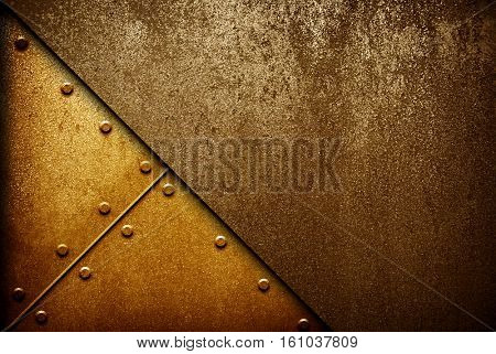 crude metal pattern background