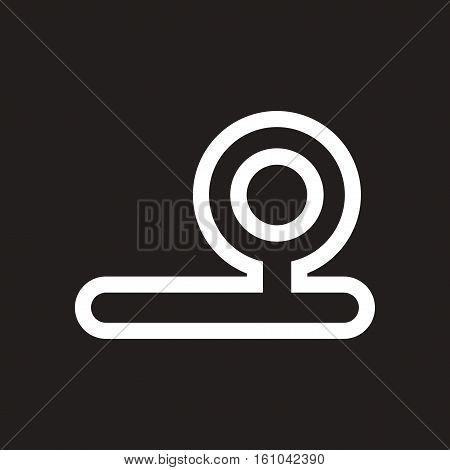 stylish black and white icon instrument otolaryngology