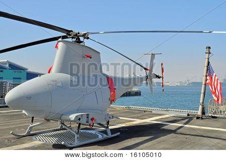 Unbemannte Reconnaissance Helicopter