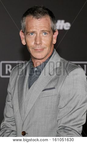 Ben Mendelsohn at the World premiere of 'Rogue One: A Star Wars Story' held at the Pantages Theatre in Hollywood, USA on December 10, 2016.