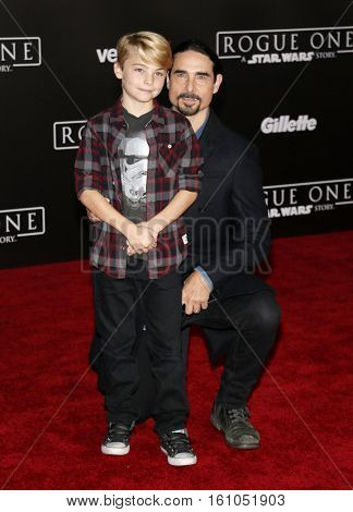 Kevin Richardson at the World premiere of 'Rogue One: A Star Wars Story' held at the Pantages Theatre in Hollywood, USA on December 10, 2016.