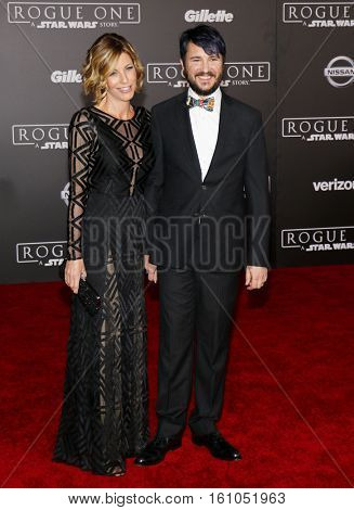 Wil Wheaton and Anne Wheaton at the World premiere of 'Rogue One: A Star Wars Story' held at the Pantages Theatre in Hollywood, USA on December 10, 2016.