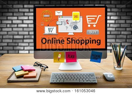 Add To Cart Online  Order Store Buy Shop  Online Payment Shopping Business And Modern Lifestyle Shop