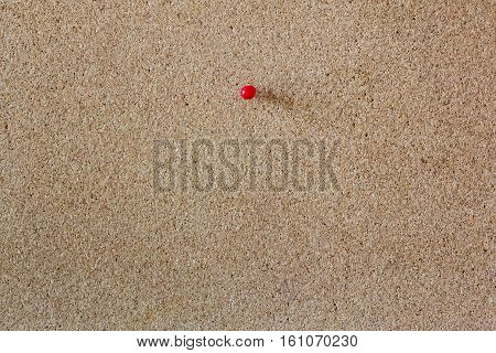Red Pinboard And Blank Corkboard Texture For Background