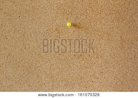 Yellow Pinboard And Blank Corkboard Texture For Background