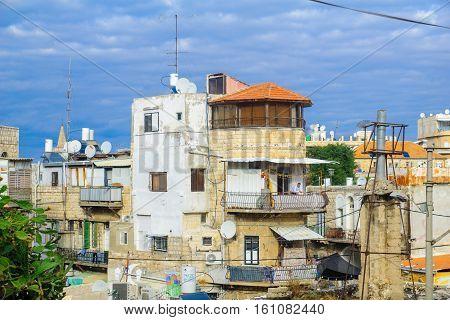 Wadi Nisnas Neighborhood, In Haifa