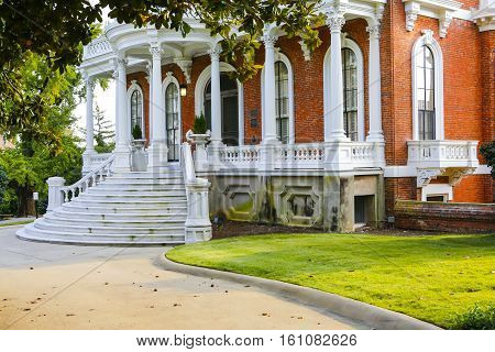 Macon, Georgia - Oct 29, 2013: Johnston-felton-hay House