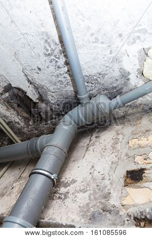 Sewer Pipes In Home Basement