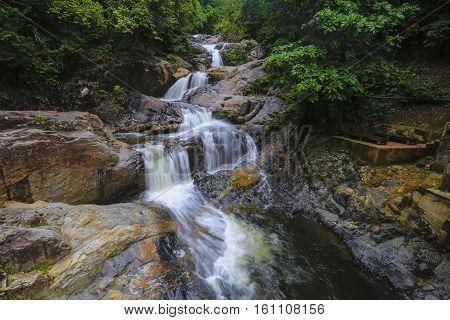 Lasir Waterfall, Kenyir Lake Terengganu