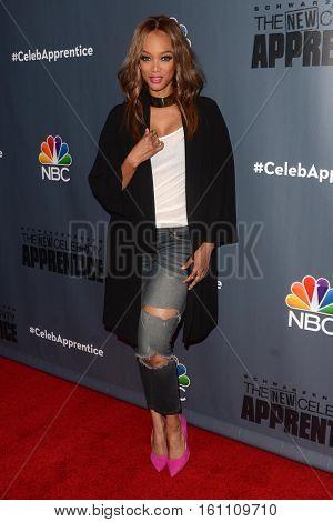 LOS ANGELES - DEC 9:  Tyra Banks at the