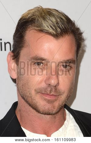 LOS ANGELES - DEC 7:  Gavin Rossdale at the  at the  at Hollywood Palladium on December 7, 2016 in Los Angeles, CA