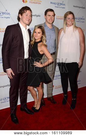 LOS ANGELES - DEC 7:  Tanner Pearson, Tyler Toffoli, guests at the  at the  at Hollywood Palladium on December 7, 2016 in Los Angeles, CA