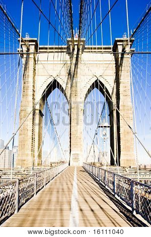 Brooklyn Bridge, Manhattan, New York City, USA