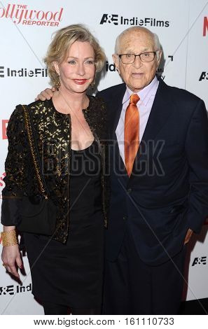 LOS ANGELES - DEC 9:  Wife, Norman Lear at the 32nd Annual International Documentary Association Awards at Paramount Studios on December 9, 2016 in Los Angeles, CA