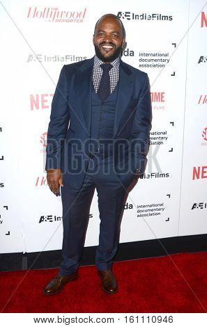 LOS ANGELES - DEC 9:  Sal Masekela at the 32nd Annual International Documentary Association Awards at Paramount Studios on December 9, 2016 in Los Angeles, CA