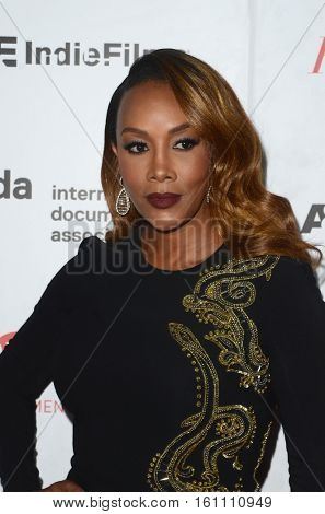 LOS ANGELES - DEC 9:  Vivica A Fox at the 32nd Annual International Documentary Association Awards at Paramount Studios on December 9, 2016 in Los Angeles, CA