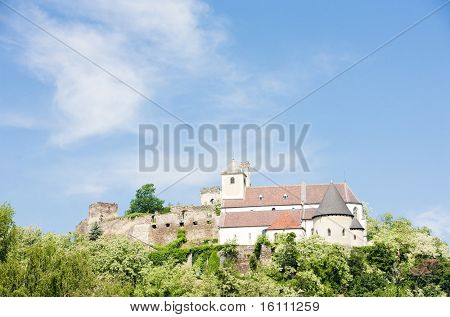 ruins of Gars Castle, Lower Austria, Austria poster