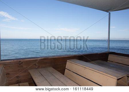 West Coast Bar In Holidays Beach, Ready For Eating