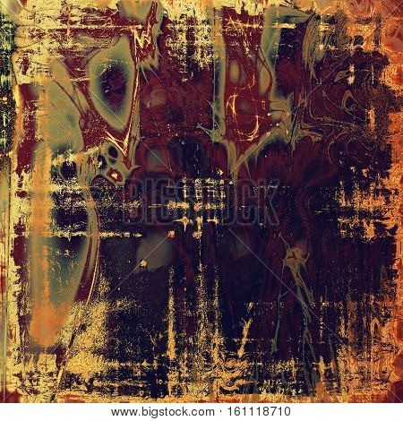 Grunge background or vintage texture in traditional retro style. With different color patterns: yellow (beige); brown; gray; red (orange); purple (violet); pink