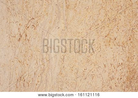 Marble wall background yellow poriferous pattern texture