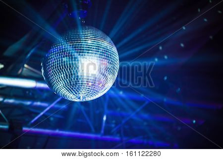 Disco Ball With Rays, Party Background
