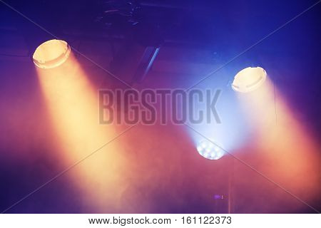 Colorful Spot Lights, Stage Illumination