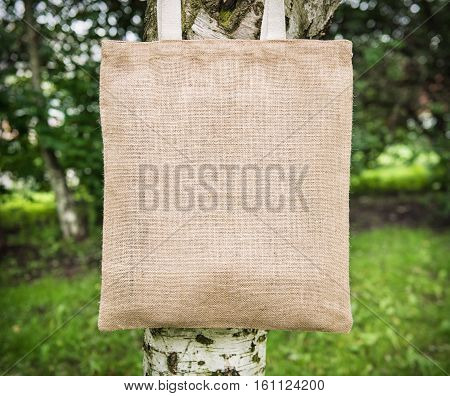 Mock Up Blank Cotton Bag